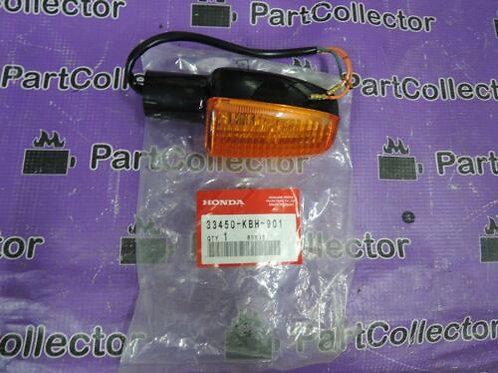 HONDA CB250 HORNET CB400 1992 - 2003 FRONT LEFT WINKER TURN SIGNAL 33450-KBH-901
