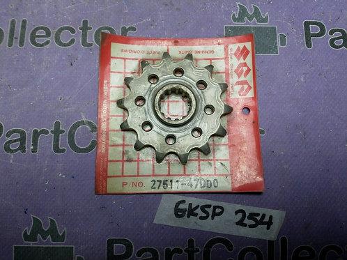 SUZUKI GENUINE FRONT SPROCKET 14T 1982-2000 RM250 DR350 27511-47D00