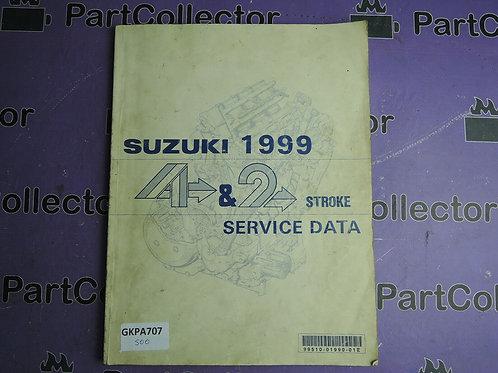 1999 SUZUKI 4 & 2 STROKE SERVICE DADA 99510-01990-01E