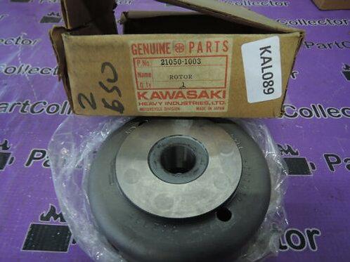 KAWASAKI KZ650 LTD CUSTOM 1978-1980 FLYWHEEL GENERATOR 21050-1003 NOS