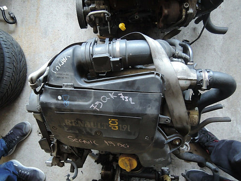 RENAULT SCENIC MOTOR ENGINE 1.9 DCI 1998-2001 F9Q