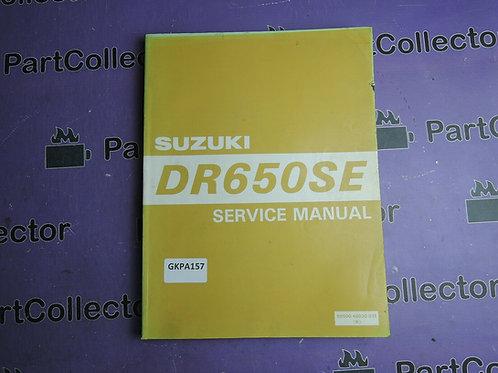 1995 SUZUKI DR650SE SERVICE MANUAL 99500-46030-01E