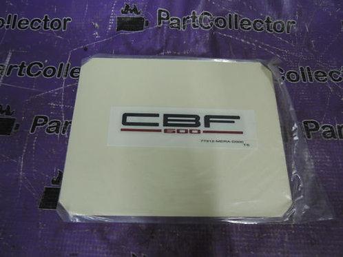 HONDA REAR COWL STICKER DECAL GRAPHICS MARK CBF600 2004-2005 77312-MER-D00 ZE