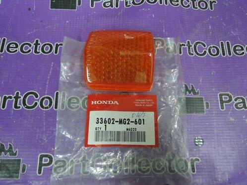 HONDA CBR1000 XL600 XR250R XLV750 INDICATOR LENS TURN SIGNAL 33602-MG2-601