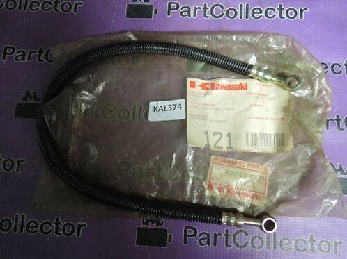 KAWASAKI ZX1100 GPZ 83-85 REAR HOSE BRAKE LINE L=570 43059-1225 NOS