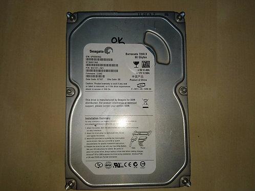 "Seagate Barracuda HDD DISK 80 GB 3.5"" ST380811AS Hard Drive 7200 rpm"