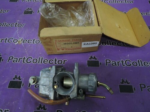 KAWASAKI GENUINE KH125 A4 1980-1982 CARB CARBURETOR 16001-297 NOS