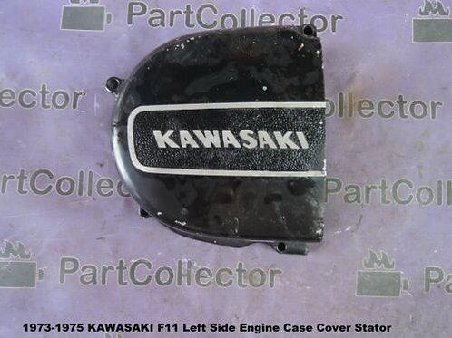 KAWASAKI F11 1973-1975 LEFT ENGINE COVER 14031-048-21 NOS