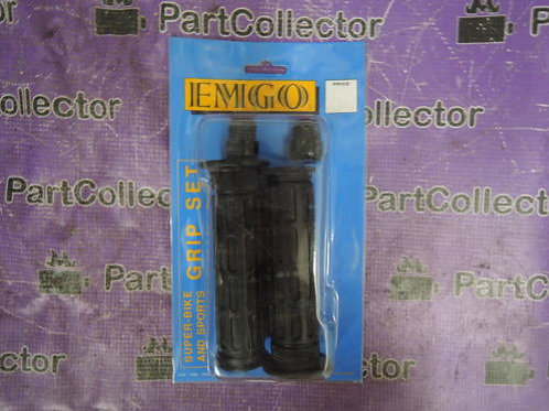 EMGO GRIP SET OPEN ENDS 7 8 INCHES WITH PLUGS HONDA 42-28760