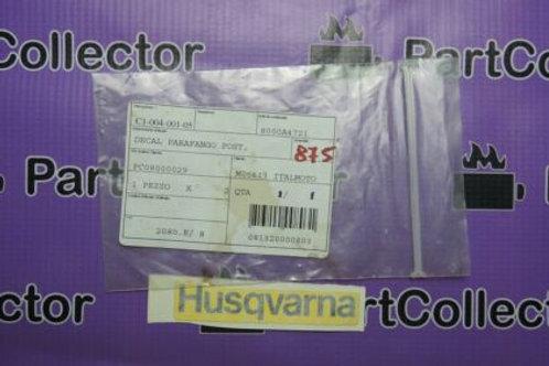 HUSQVARNA 2006 EMBLEM  REAR  FENDER WRE-SM S 125 8000A4721