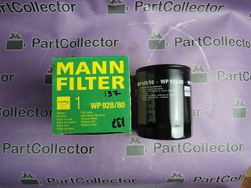 MANN WP 928-80 � OIL FILTER