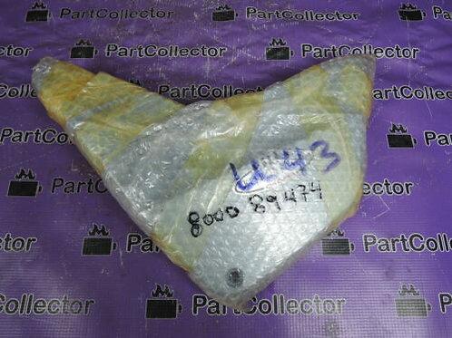 CAGIVA ROADSTER 125 LEFT SIDE PLASTIC COVER FAIRING SILVER 800089474