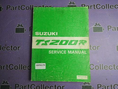 1992 SUZUKI TS 200R SERVICE MANUAL 99500-21161-01E