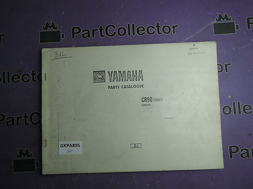 1991 YAMAHA CR 90[3NW3] BOOK PARTS CATALOGUE 113NW-511E1 GREECE