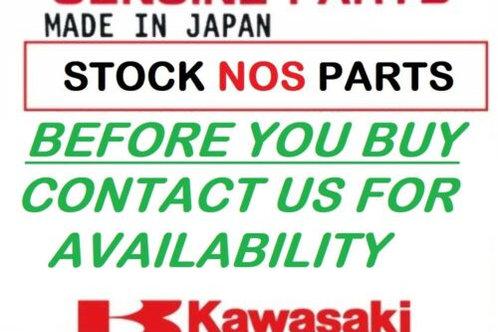 KAWASAKI GENUINE PANNIER SET SIDE CASES BLUE ZZR1200 2003 99990978F NOS