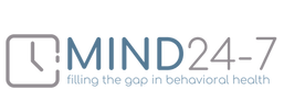 MIND 24-7 main logo with tagline - MIND