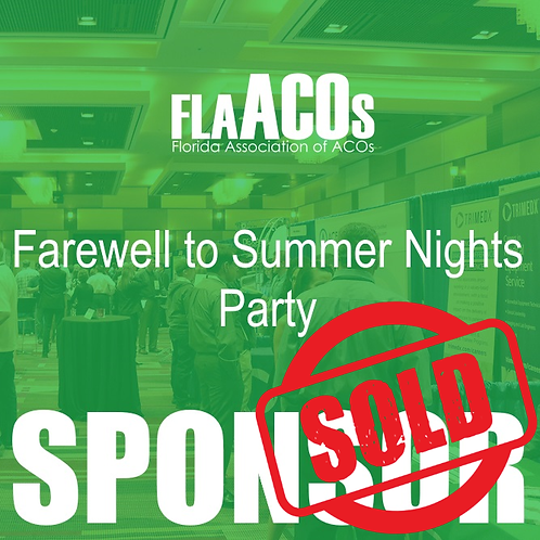 2019 Farewell to Summer Nights Party Sponsor