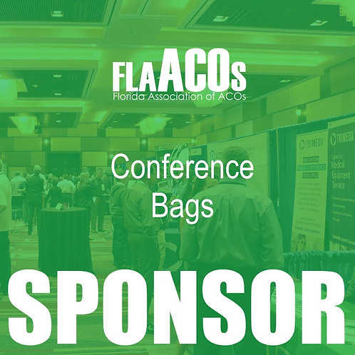 2019 Conference Bags Sponsor