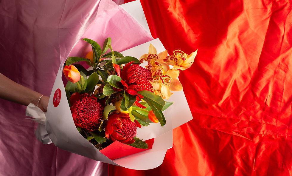 Bright Hues Bouquet