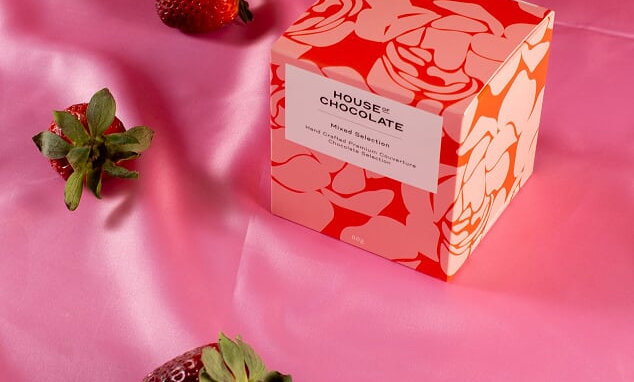 Floral Bonbon Gift Box Chocolates