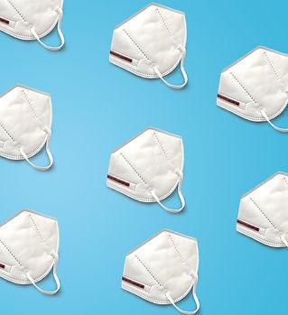 Mehrere FFP2-Masken zum Atemschutz
