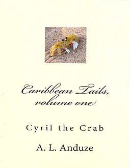 Caribbean Tails, volume one Cyril the Crab.