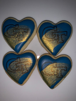 Georgia Tech hearts