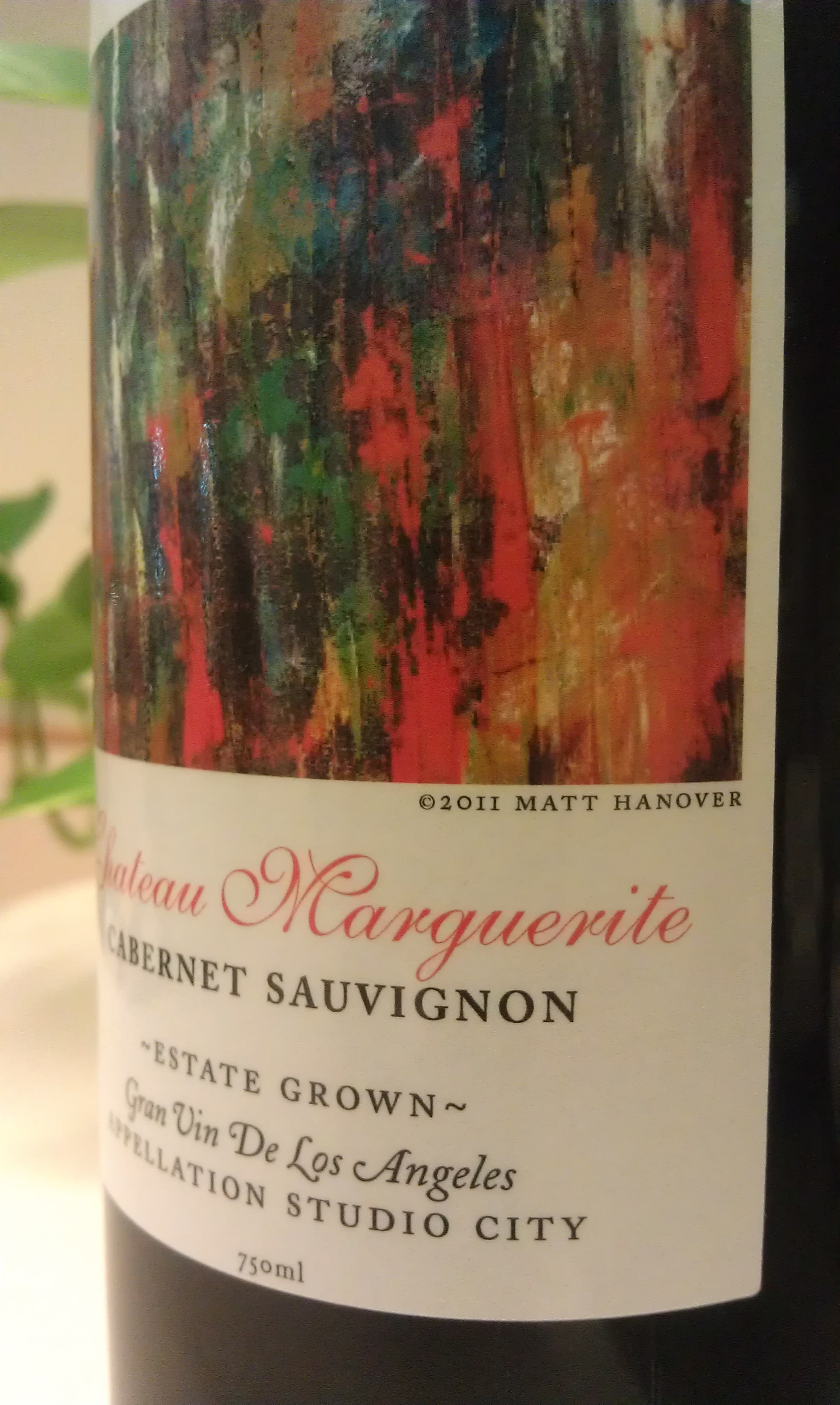 Wine Label for Chateau de Marguerite