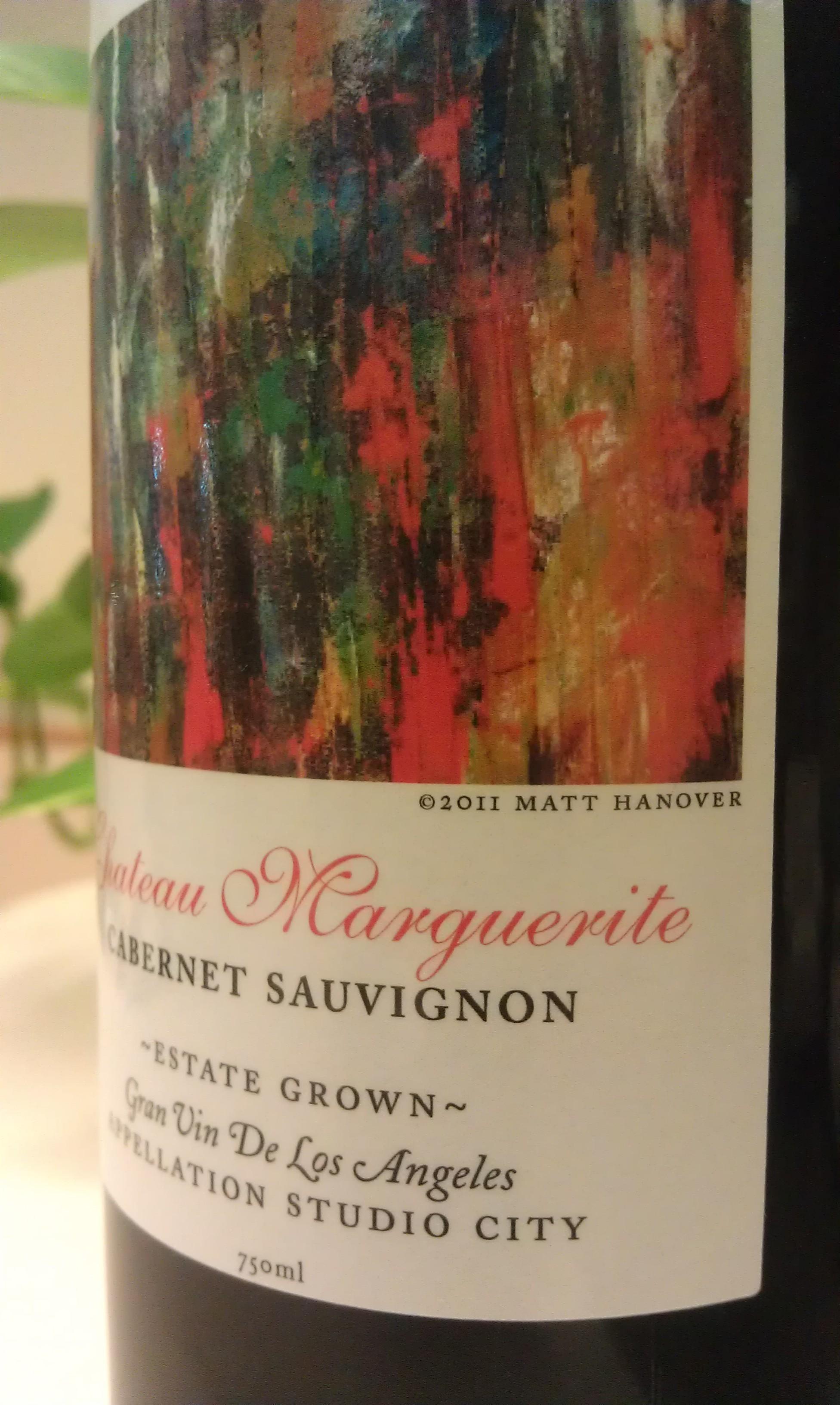 Wine Label for Chateau de Marguerite