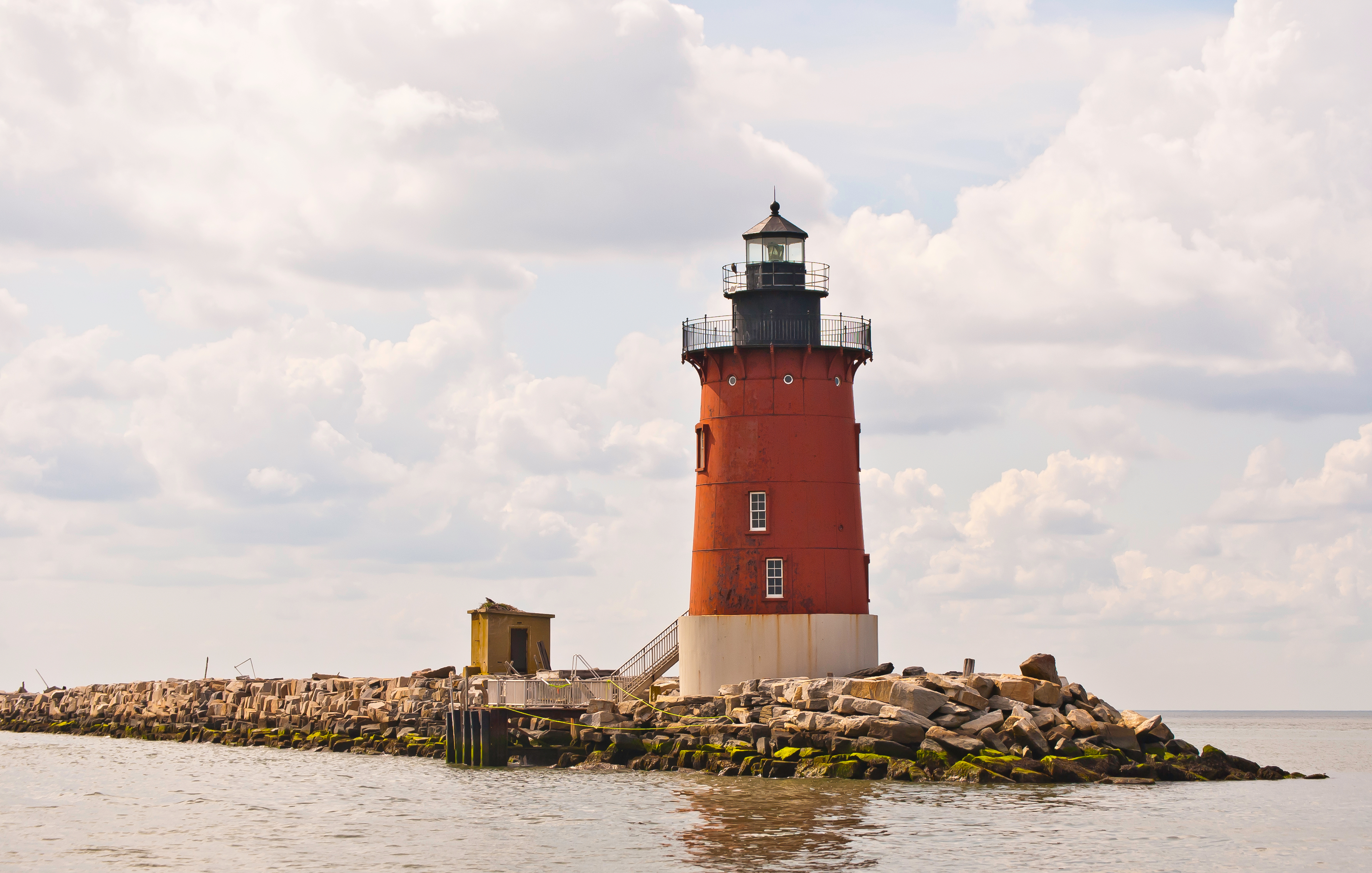 Delaware Breakwater Lighthouse - Lewes,