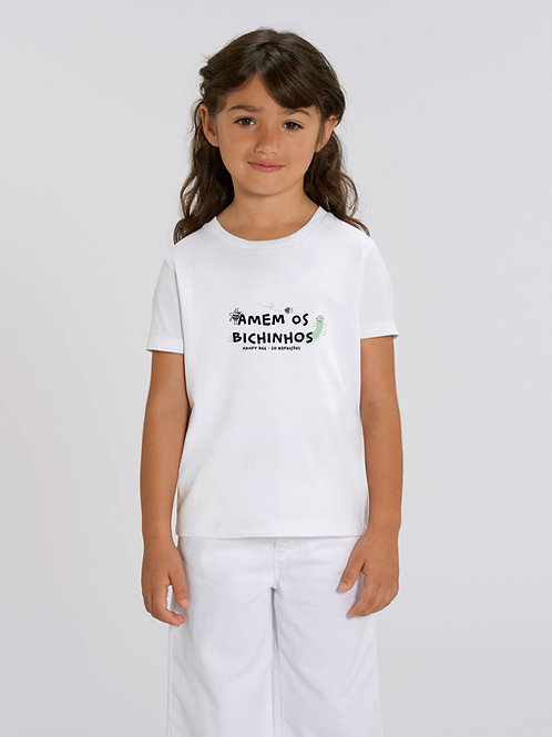 T-shirt Bichinhos