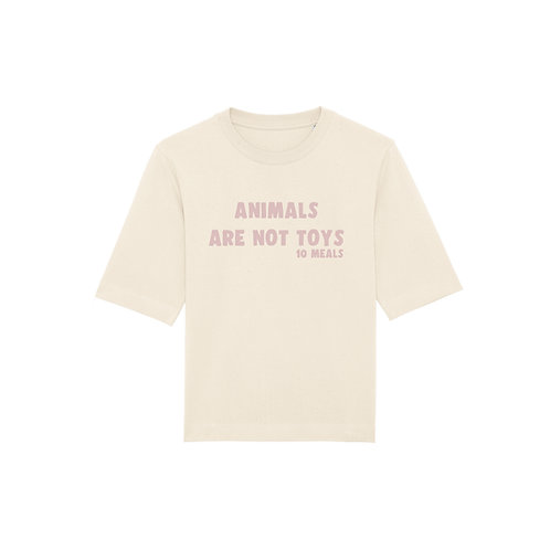 T-shirt Animals Are Not Toys