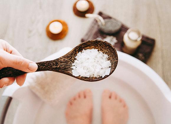 Magnesium voor voetenbad of bad - Navulling 500gr.