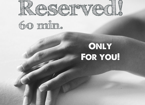 Rittenkaart  60 min. VIP behandeltijd all-in - 5 behandelingen