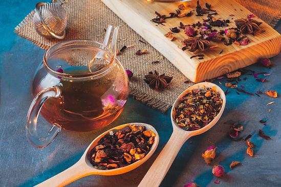 Tea ceremony,a Cup of freshly brewed bla