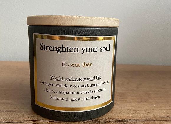 Strenghten your soul - Groen thee - 75 gr.