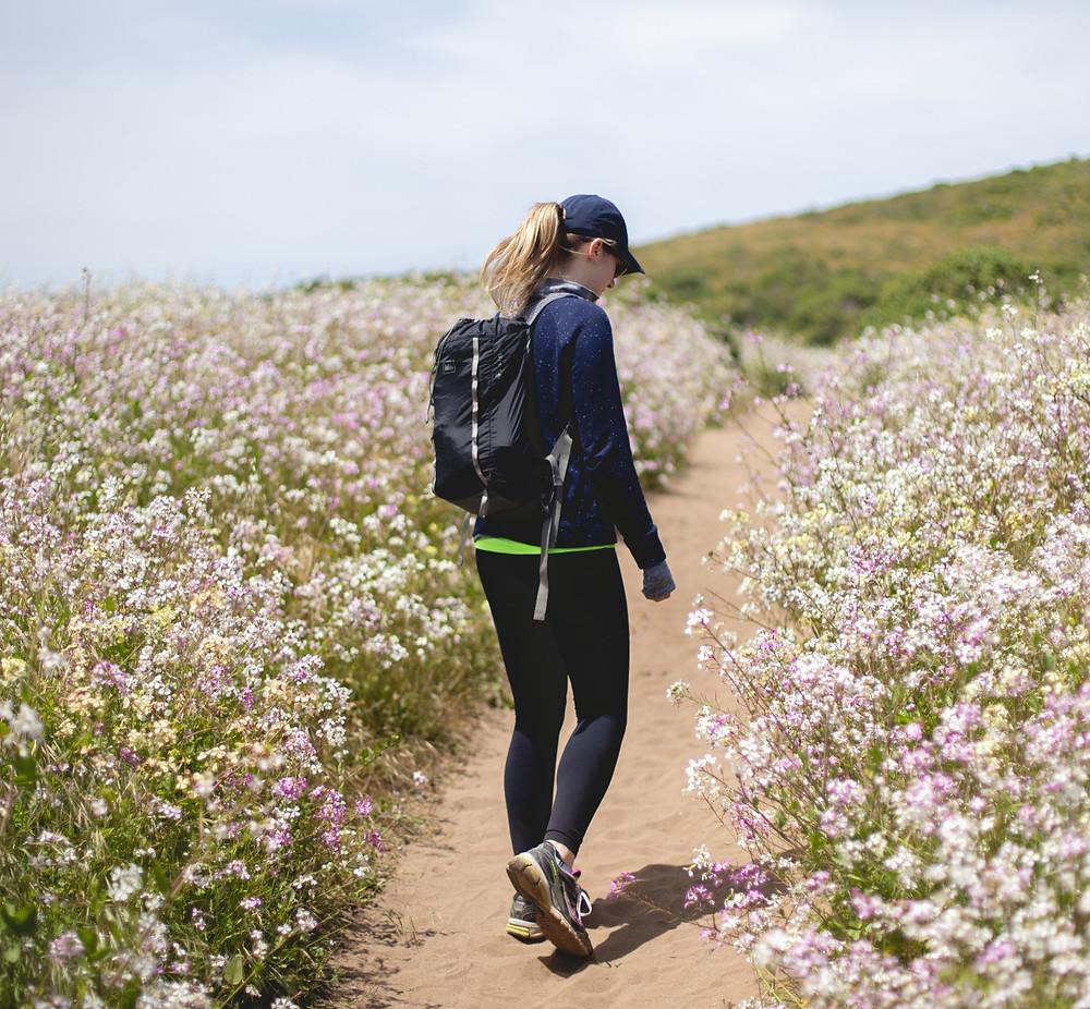 Cellulite en beweging: Beweeg voldoende, je hoeft echt niet te rennen. Maar beweging zorgt voor een goede circulatie, stofwisseling.