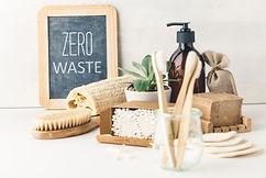 Zero waste concept. Eco-friendly bathroo