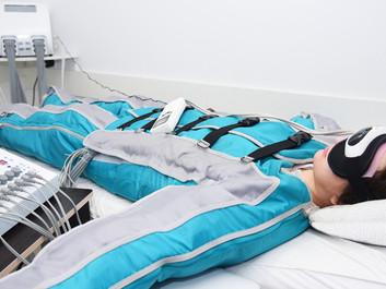 De voordelen van pressotherapie met infrarood: het stimuleert ons lymfesysteem.