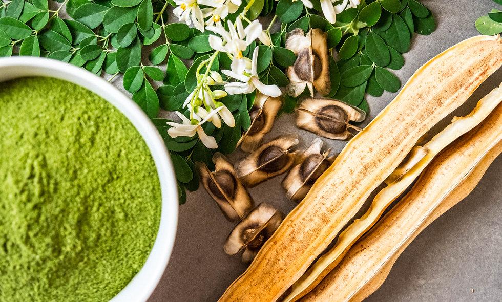 Moringa - biologische teelt - 75 gr.