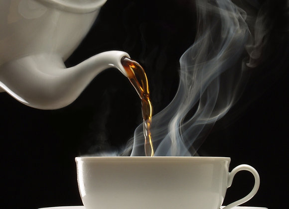 Hot chocolate - Zwarte thee - 75 gr.