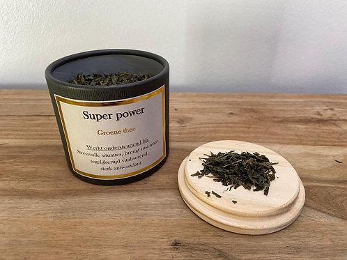 Super power - Groene thee - 75gr.