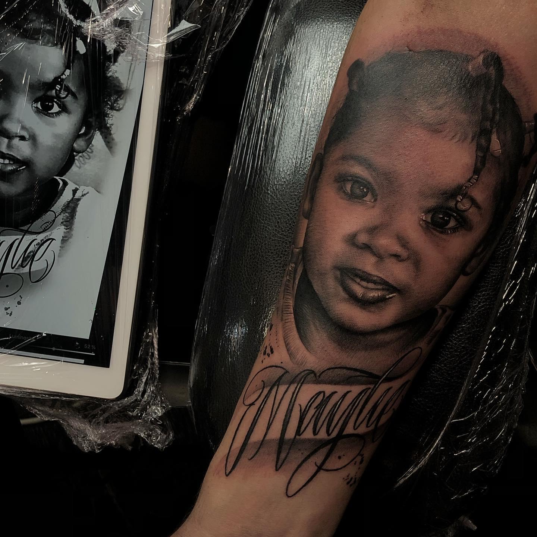 portrait enfant famille tatouage toulouse tattoo