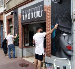 graffeur toulouse oneduse décoration