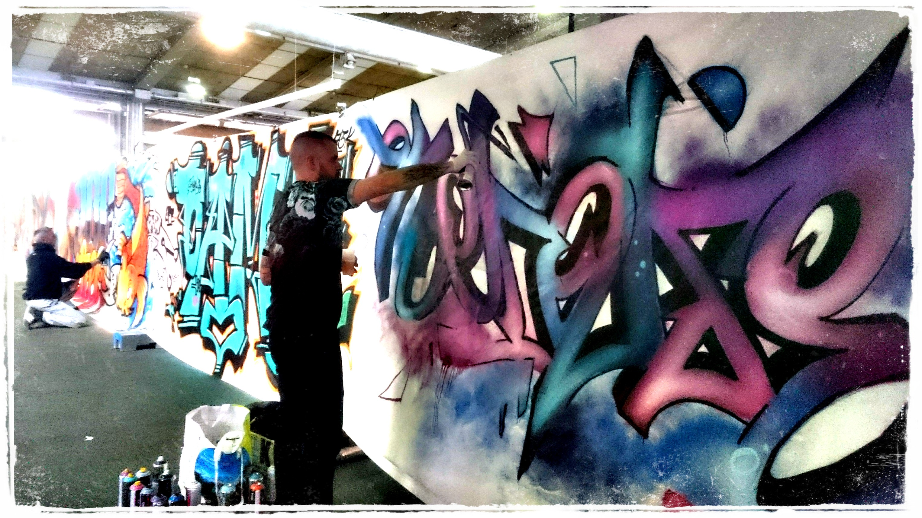 oneduse graffeur tattoo pau 2016