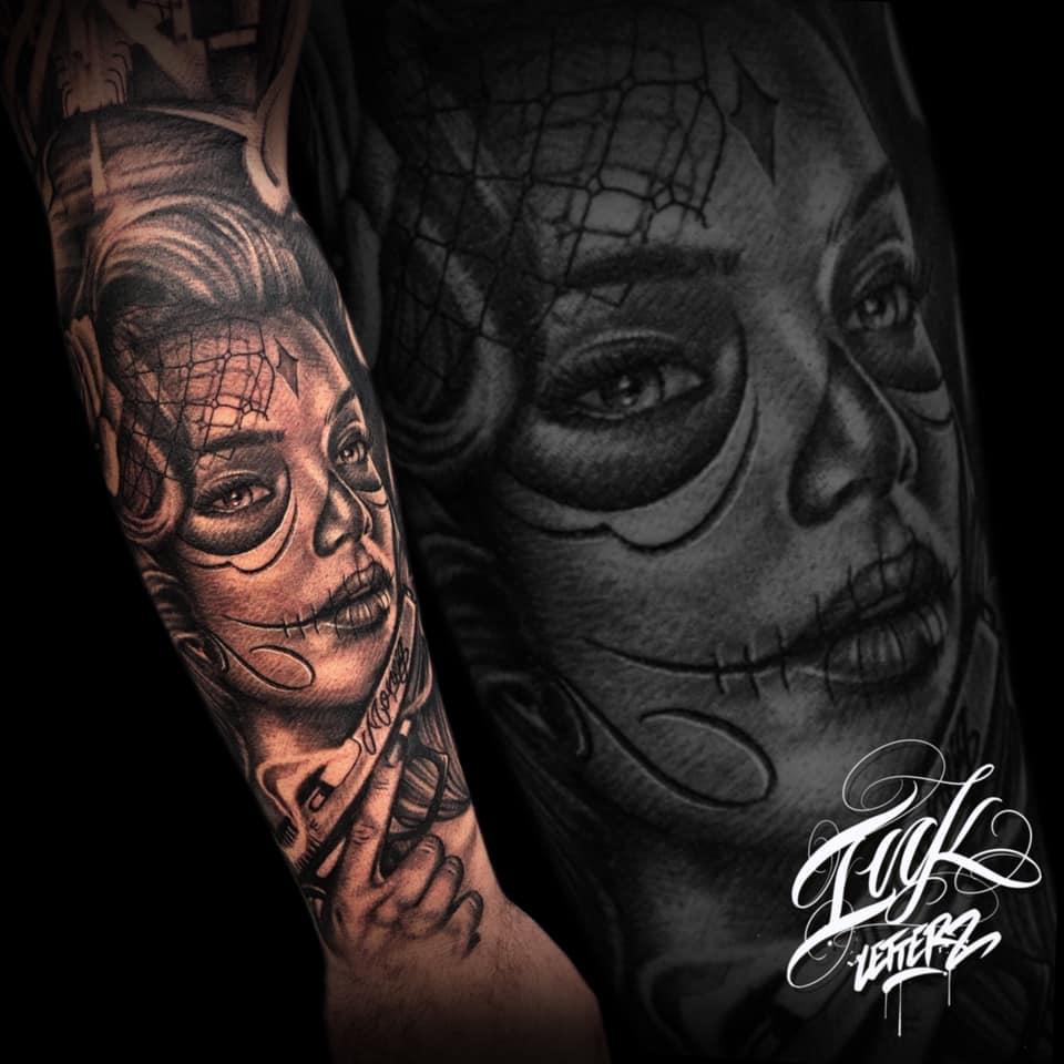 santa muerte tatoueur toulouse