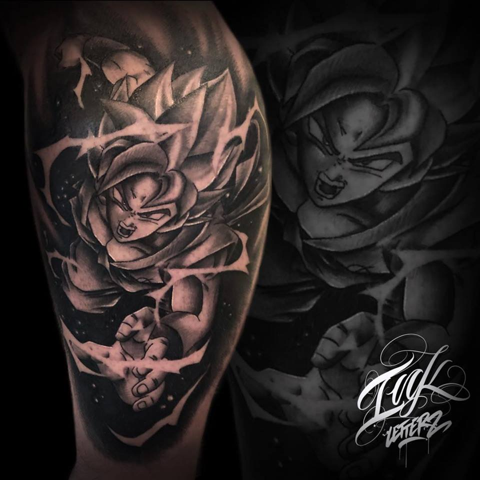 dbz dragon ball tattoo toulouse