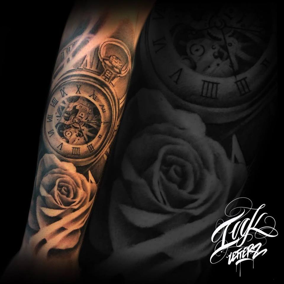 montre rose tattoo reaslite toulouse