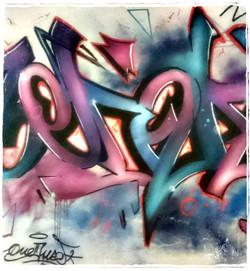 oneduse graffiti pau 2016