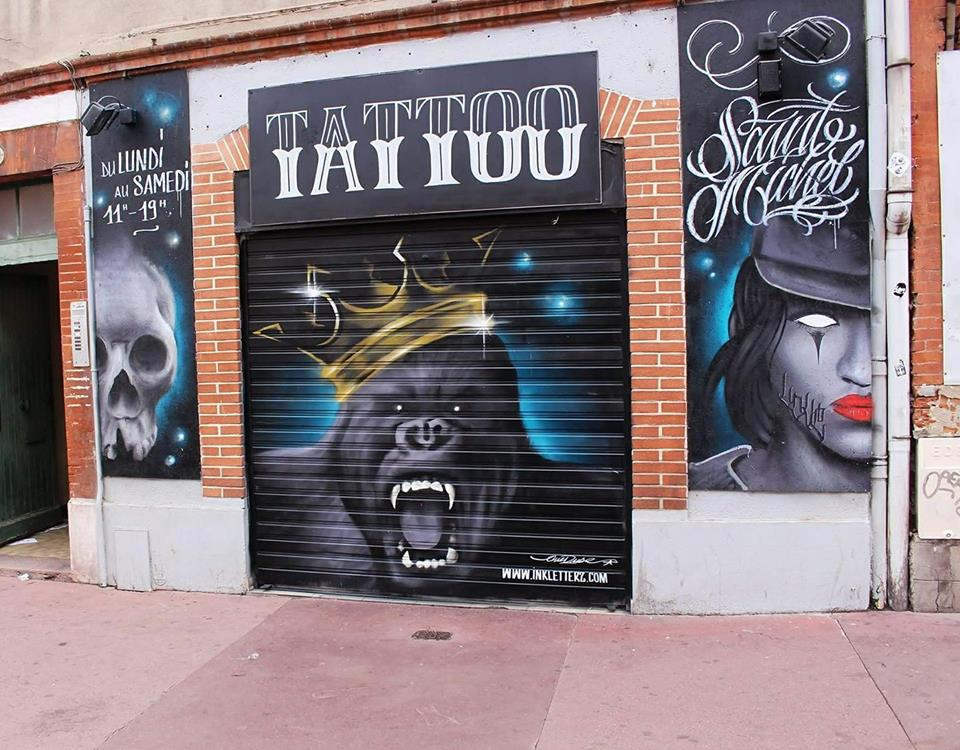 graffeur toulouse salon de tatouage